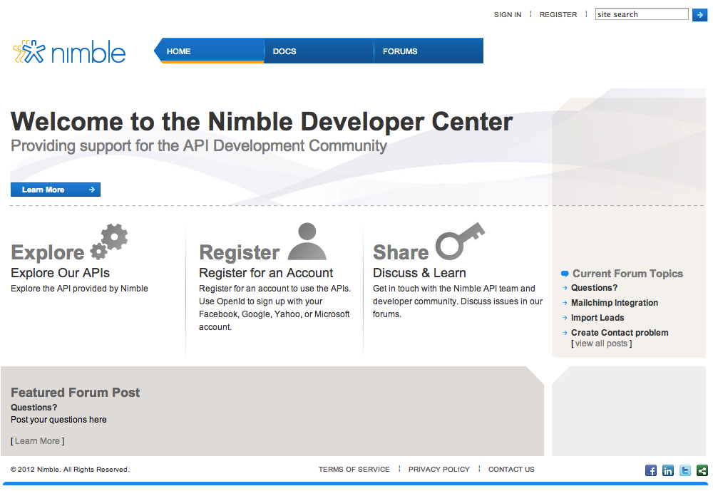 The New Nimble Contact API is Ready for Integration
