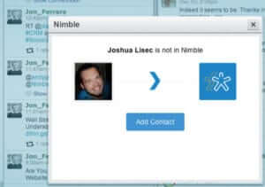 Add contact to Nimble