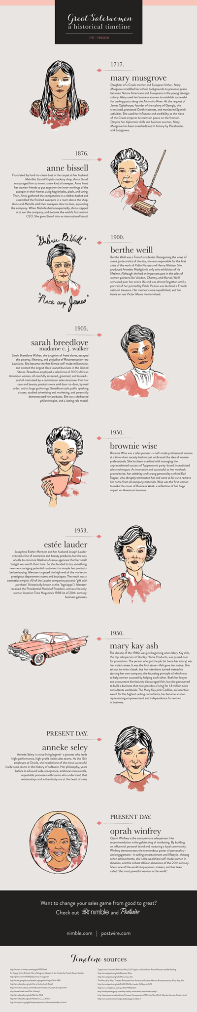 Great Saleswomen: A Historical Timeline (1717-Present) [Infographic]