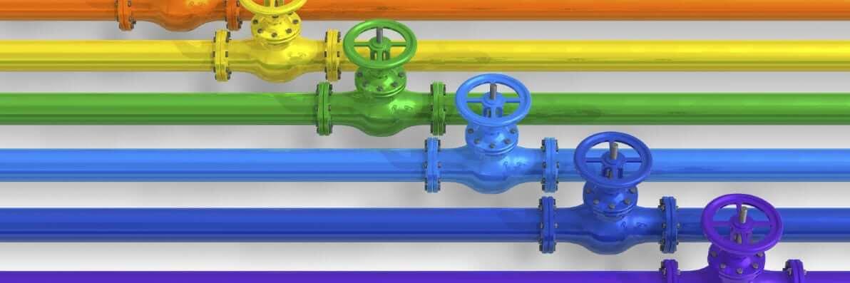 pipeline colors