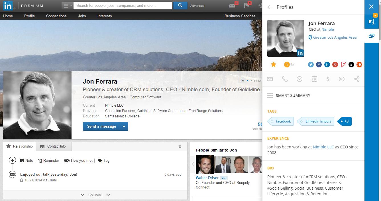 Jon LinkedIn