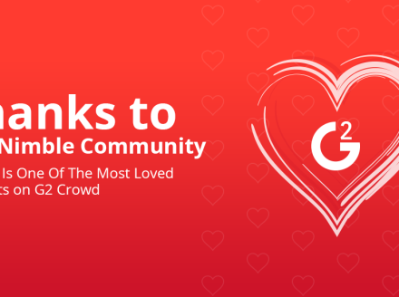 Thx for Making @Nimble – Most Loved Biz Software on Valentines – @G2Crowd