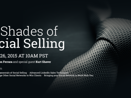 [WEBINAR] 50 Shades Of Social Selling