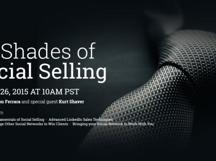 50 Shades Of Social Selling [Webinar]