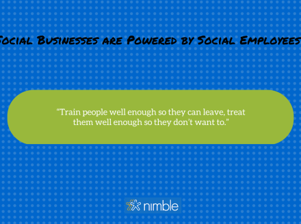 Bring Your Network to Work: Empower #Social Employees