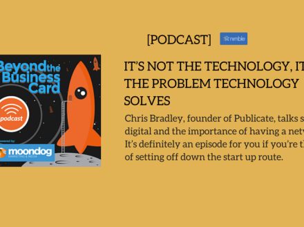 It Is Not The Technology, It Is The Problem Technology Solves!