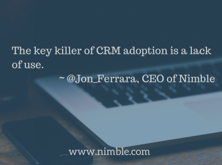 The first #CRM that automagically builds itself