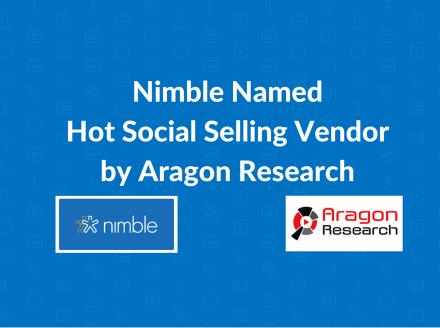 Nimble Named Hot Vendor in Social Selling