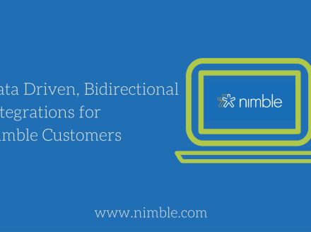 Data Driven, Bidirectional Integrations for Nimble Customers