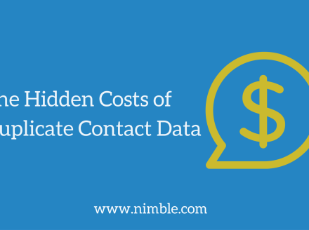 The Hidden Costs of Duplicate Contact Data