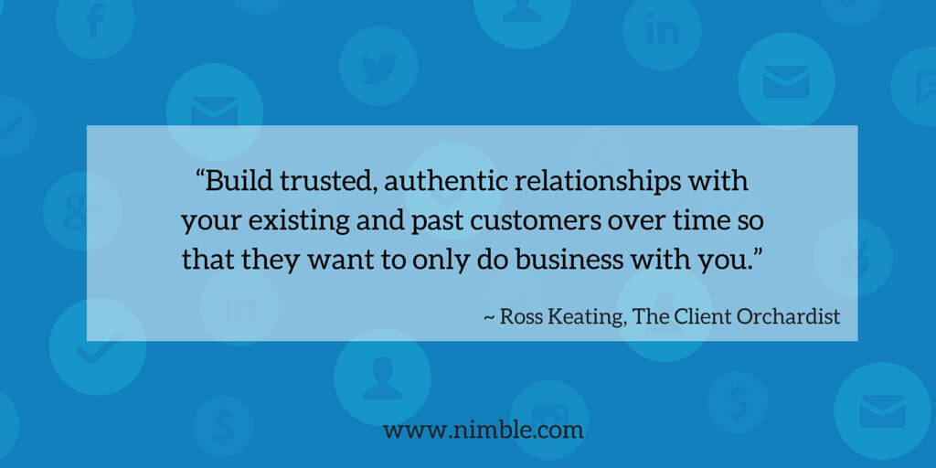 """Build trusted, authentic relationships (1)"