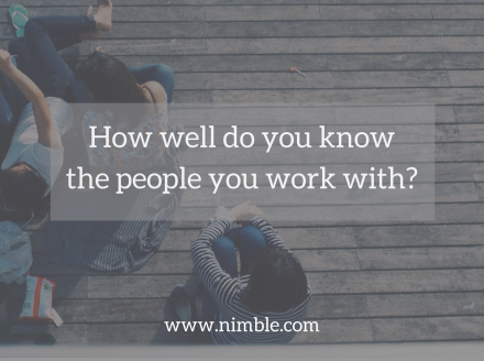How Well Do You Know The People You Work With?