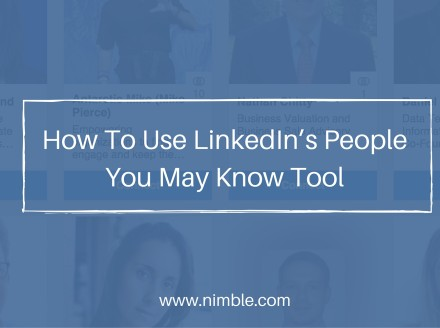 How to use LinkedIn's People You May Know tool​