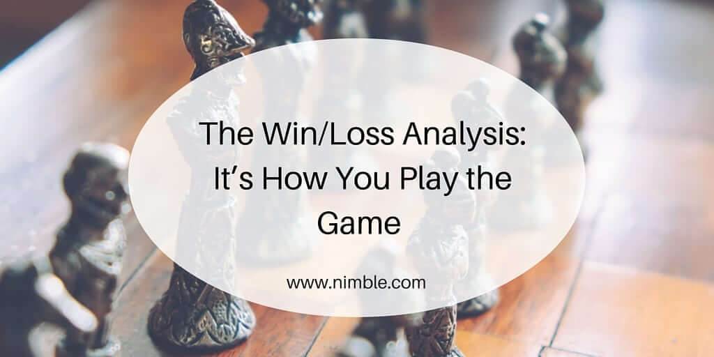The Win-Loss Analysis- It's How You Play the Game (2)