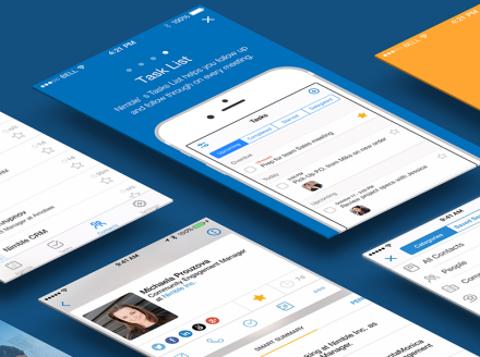 Nimble Delivers Mobile App with Smart Agenda & Contacts Insights