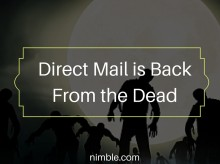 Direct Mail is Back from the Dead