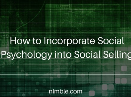How to Incorporate Social Psychology into Social Selling