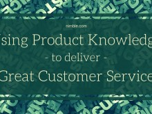 Using Product Knowledge to Deliver Great Customer Service