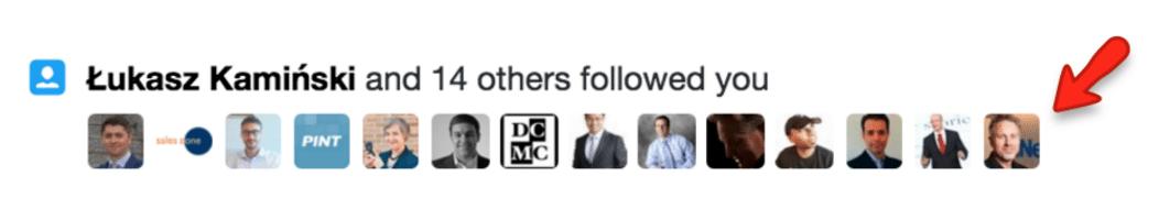 New Followers - Twitter
