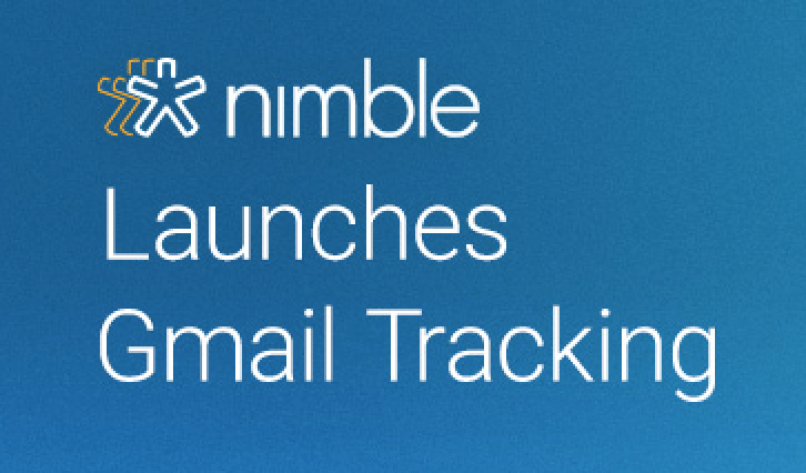 Nimble Launches Gmail Templates, Tracking and Analytics