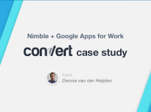How Convert Combined Nimble + Google Apps for the Ultimate Social CRM Productivity Suite