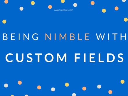 Being Nimble With Custom Fields