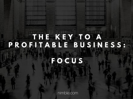 The Key To A Profitable Business: Focus