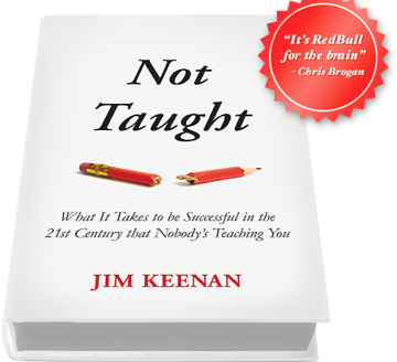 #NimbleReads: Not Taught (What it Takes to be Successful in the 21st Century)