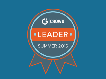 Nimble Voted Leader in CRM and Sales Intelligence in G2 Crowd Summer 2016 Ratings