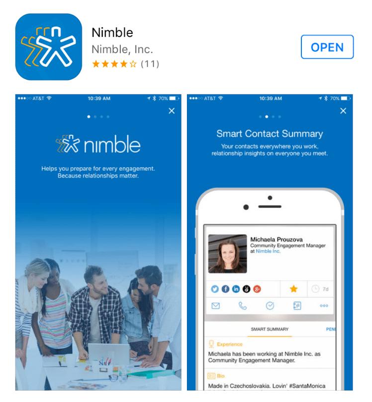Nimble App