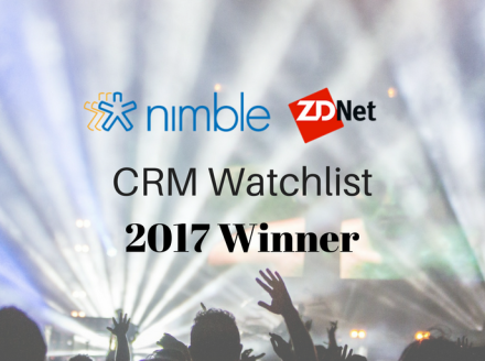 Nimble Named a Winner in 2017 CRM Watchlist Awards