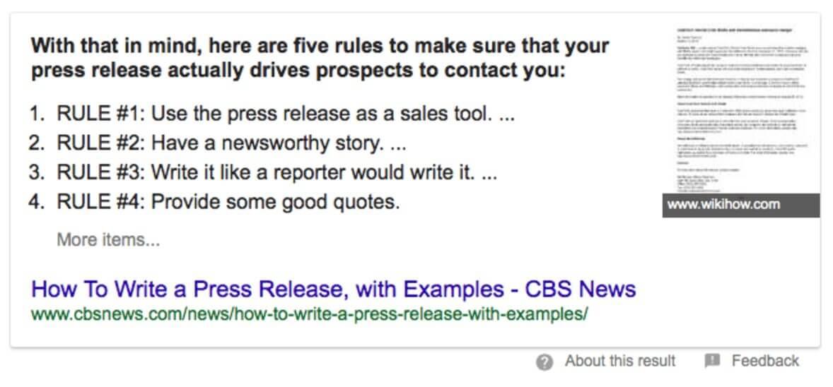 Five Rules