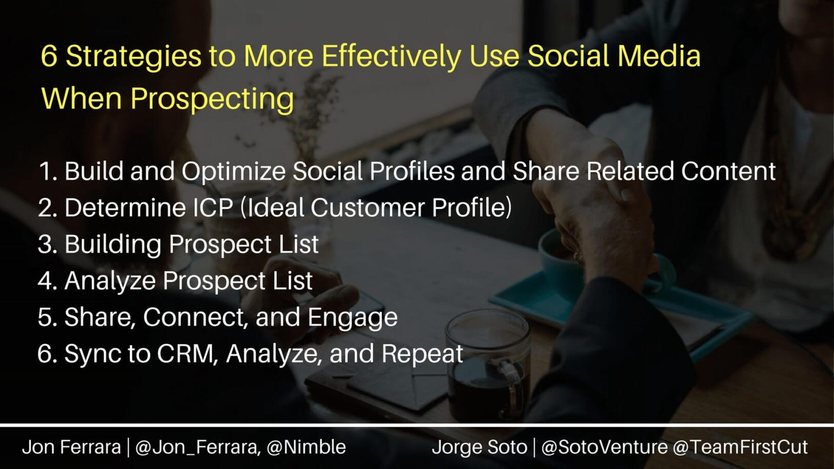 6 Strategies to More Effectively Use Social Media When Prospecting
