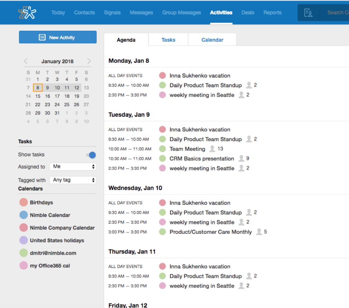 calendar microsoft office
