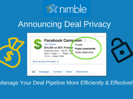 Introducing Deal Privacy Features to Manage Your Pipeline More Efficiently and Effectively