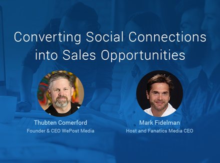 Converting Social Connections into Sales Opportunities: Nimble Growth Hacking w. Thubten Comerford