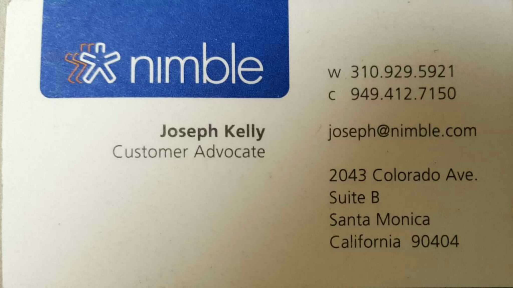 Nimble crm business card scanner for android nimble snap a photo of a card and nimble will add this information to a contact record and then enrich the record with additional social profile details colourmoves
