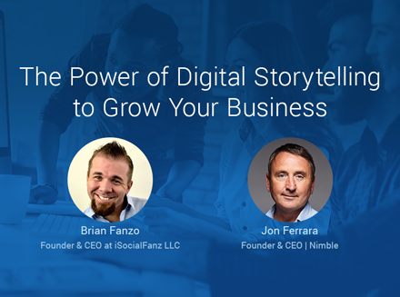 Live Webinar with Brian Fanzo 4/26: The Power of Digital Storytelling
