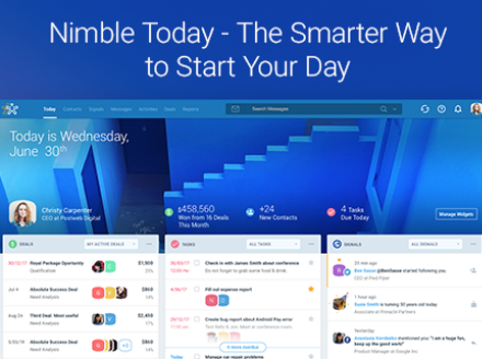 Introducing Nimble Today – The Smarter Way to Start Your Day