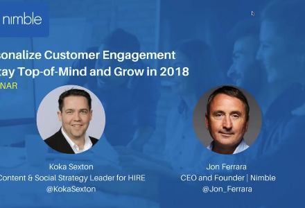 Webinar Replay: Personalizing Engagement to Stay Top of Mind