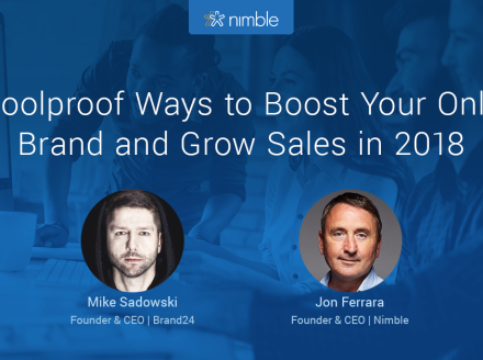 Webinar Replay: 7 Foolproof Ways to Boost Your Online Brand & Grow Sales