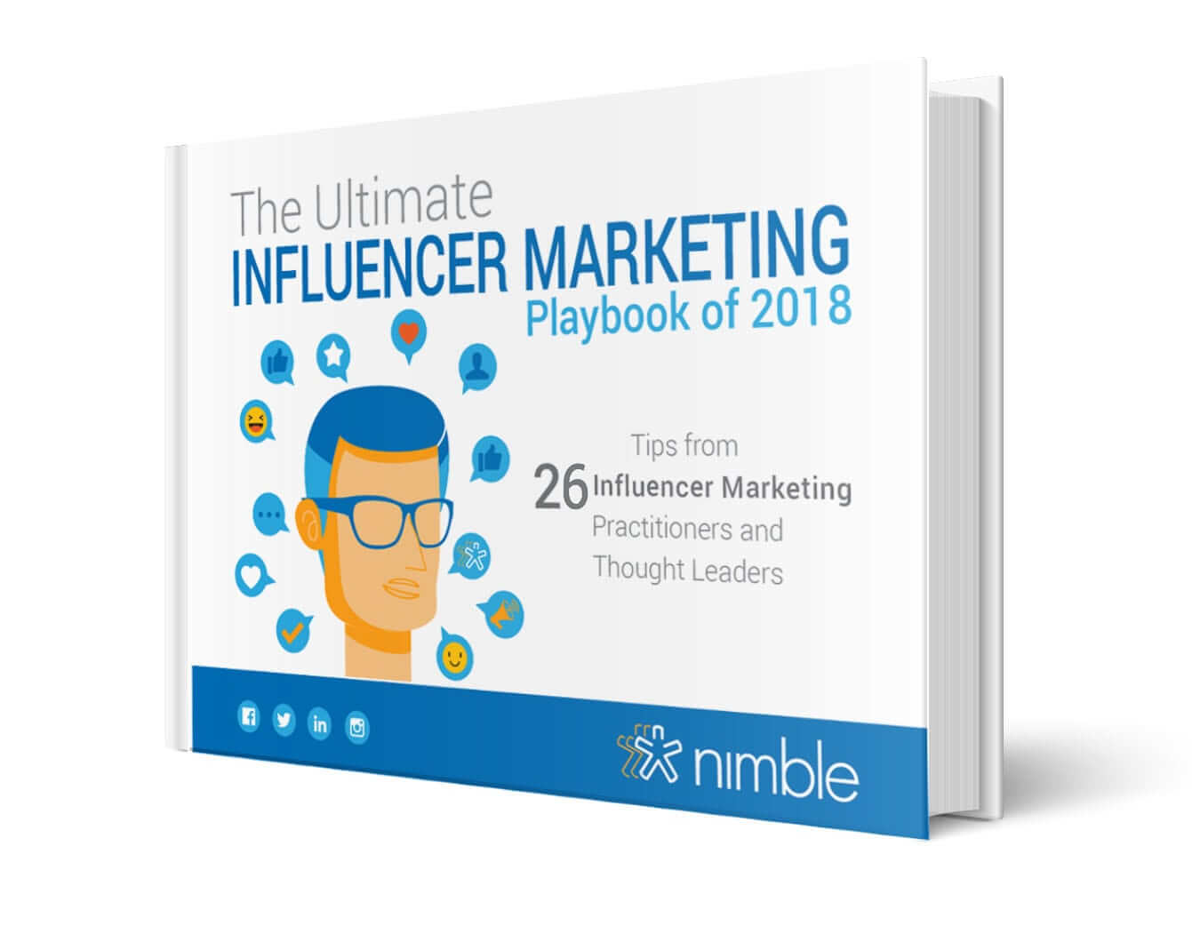 20180701-Nimble eBook-Ultimate Guide to Influencer Mrktng-MOCK U