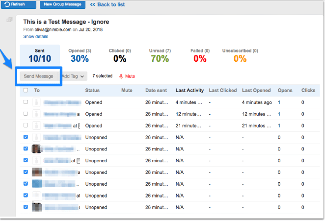 CRM group messaging tips | Nimble