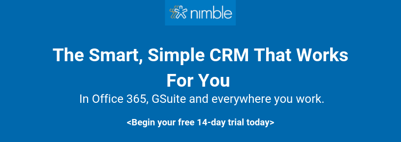 The simple smart CRM that works for you
