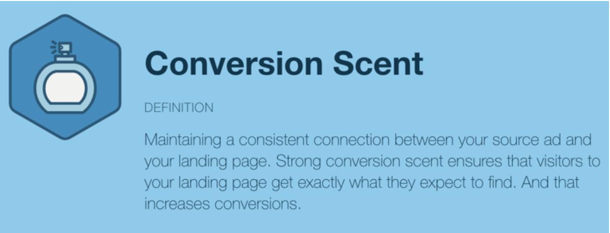 conversion scent