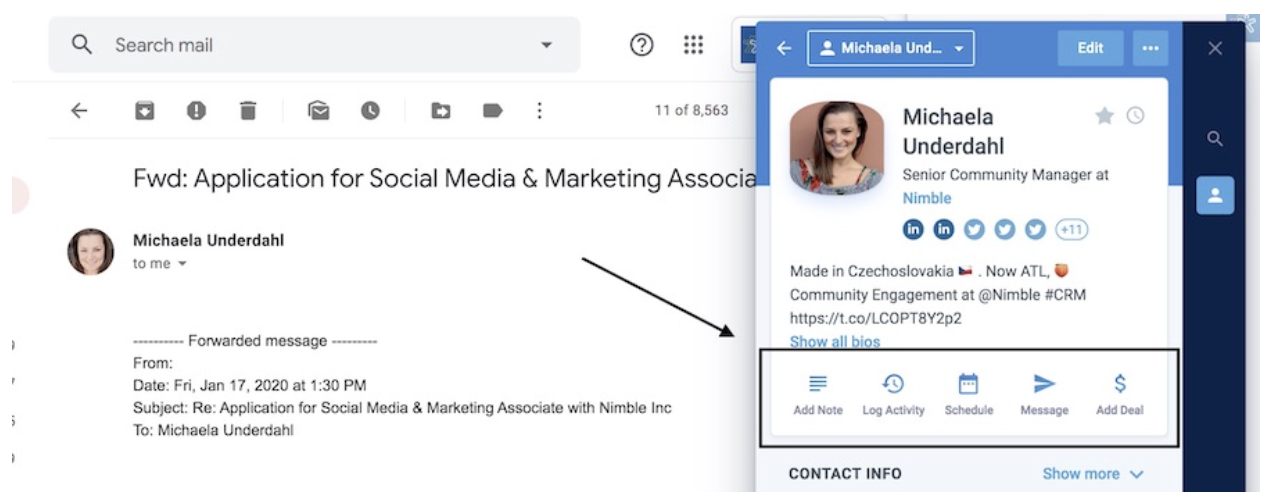 nimble crm for digital marketing agencies
