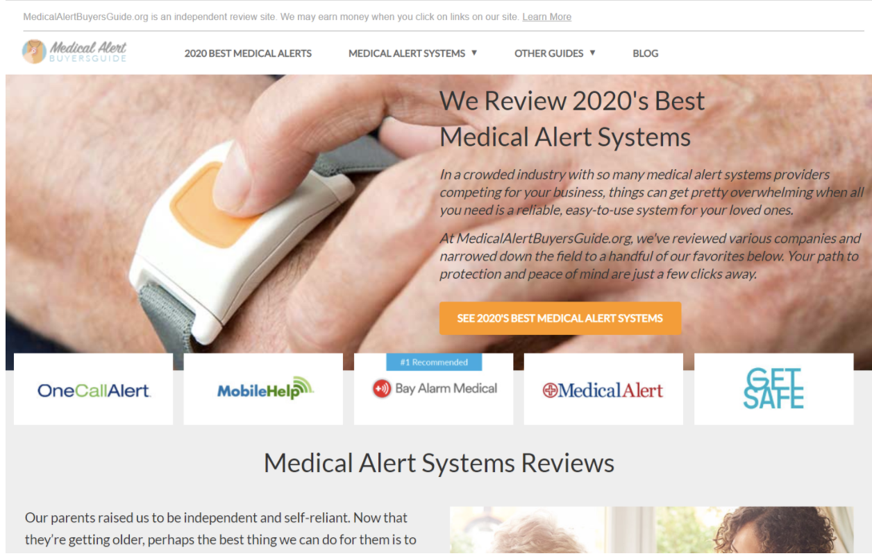 medical alert systems reviews