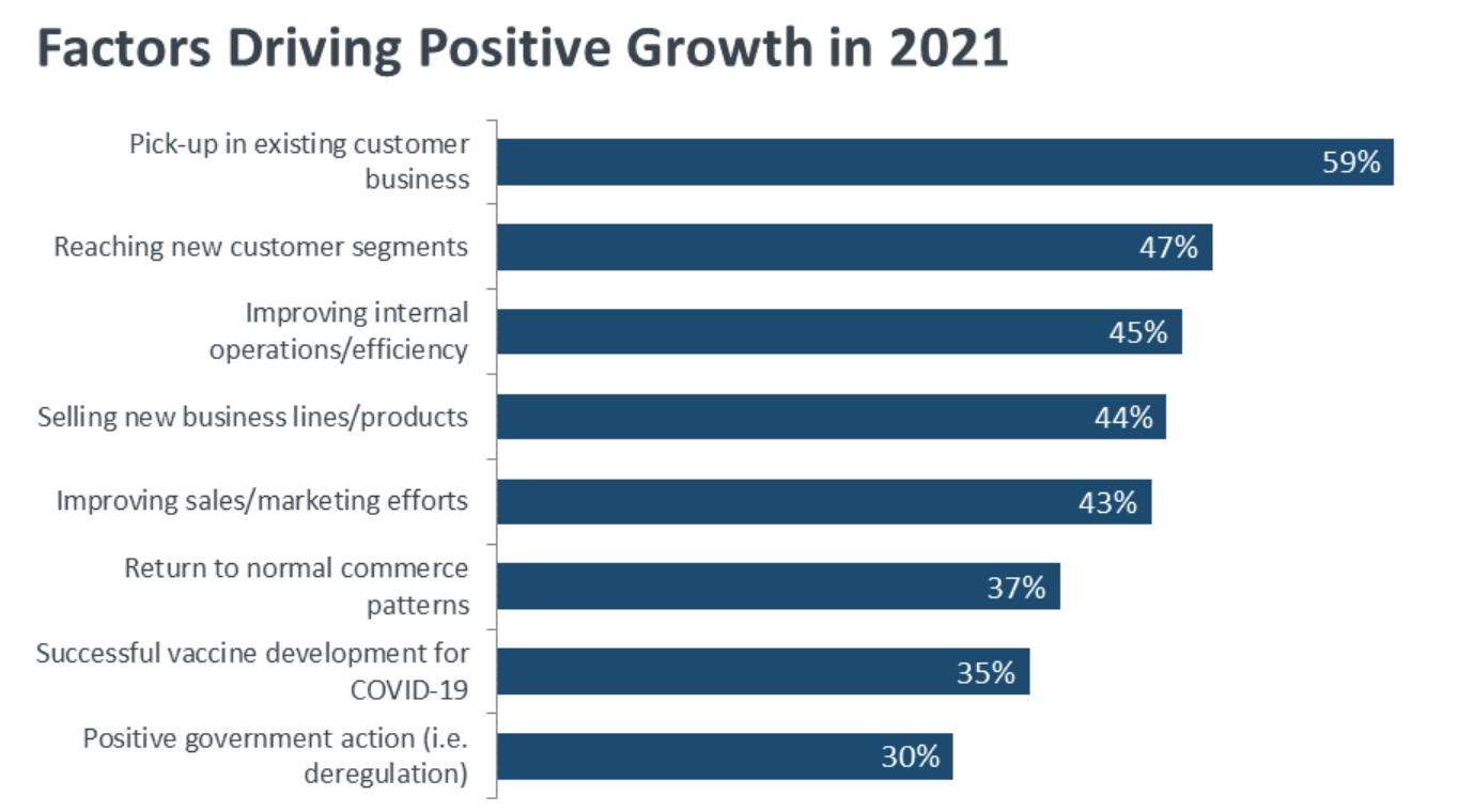 factors driving positive business growth in 2021