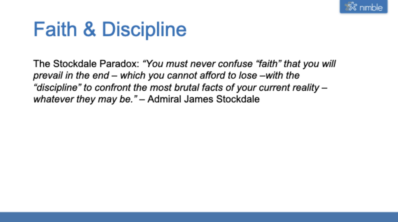 the stockdale paradox